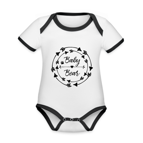 Baby Bear - Baby Bio-Kurzarm-Kontrastbody