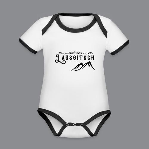 Lausgitsch - Baby Bio-Kurzarm-Kontrastbody
