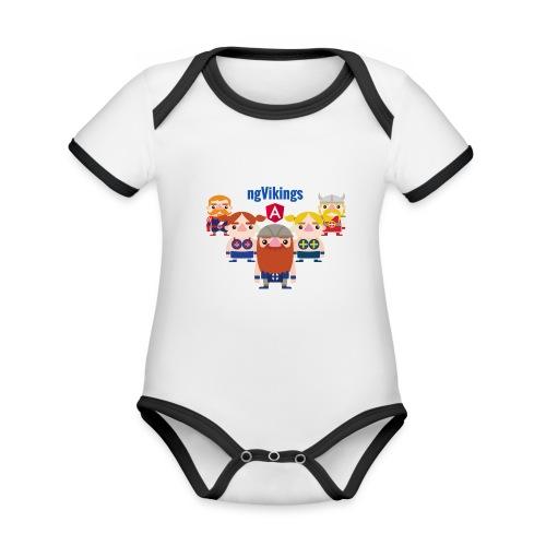 Viking Friends - Organic Baby Contrasting Bodysuit