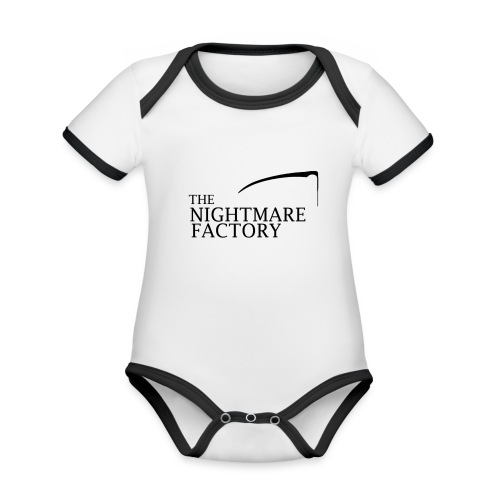 nightmare factory Nero png - Organic Baby Contrasting Bodysuit