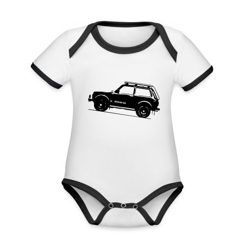 Lada Niva 2121 Russin 4x4 - Baby Bio-Kurzarm-Kontrastbody