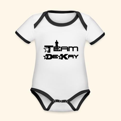 Team_Tim - Organic Baby Contrasting Bodysuit