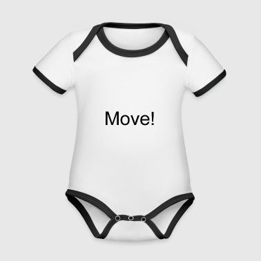 Move - Organic Baby Contrasting Bodysuit