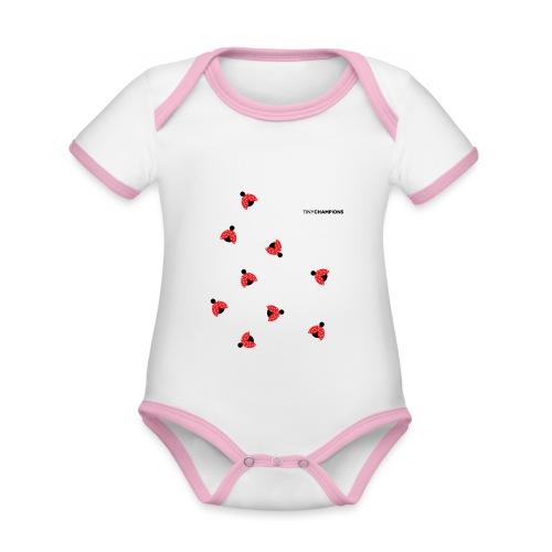 ladybird 2 design tc - Organic Baby Contrasting Bodysuit