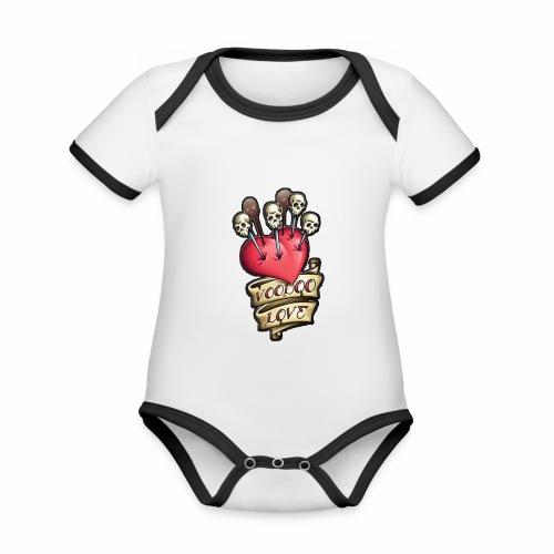 AMOR VOODOO - Body contraste para bebé de tejido orgánico