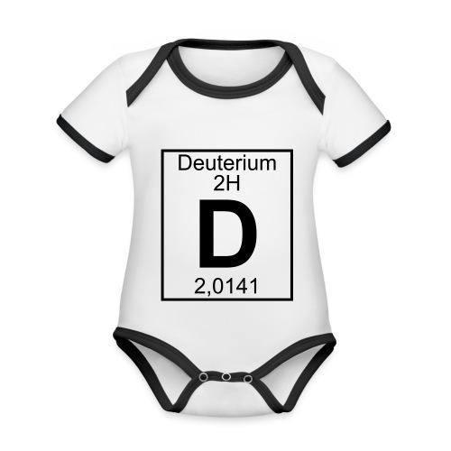 D (Deuterium) - Element 2H - pfll - Organic Baby Contrasting Bodysuit