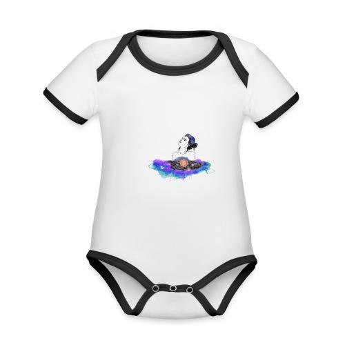 essentia - Organic Baby Contrasting Bodysuit