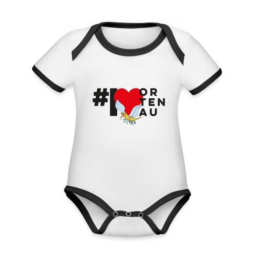 Robby loves Ortenau - Baby Bio-Kurzarm-Kontrastbody