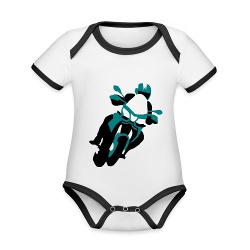 Caponord1200 - Baby Bio-Kurzarm-Kontrastbody