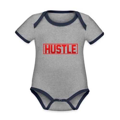 Hustle - Organic Baby Contrasting Bodysuit