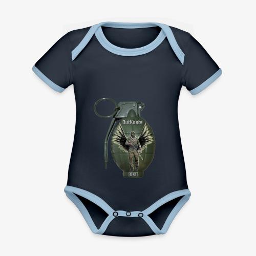 grenadearma3 png - Organic Baby Contrasting Bodysuit