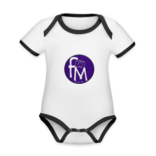 FM - Organic Baby Contrasting Bodysuit
