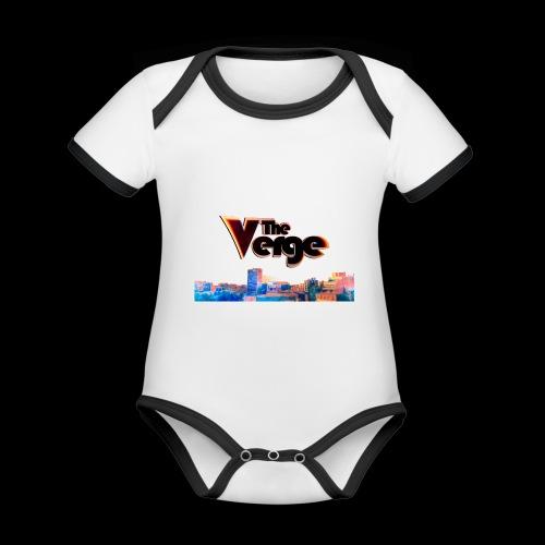 The Verge Gob. - Body Bébé bio contrasté manches courtes