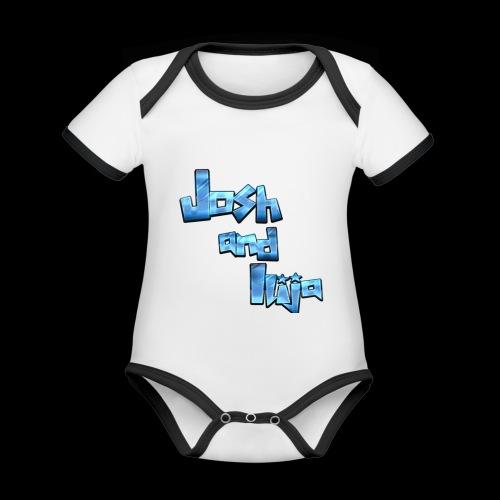 Josh and Ilija - Organic Baby Contrasting Bodysuit