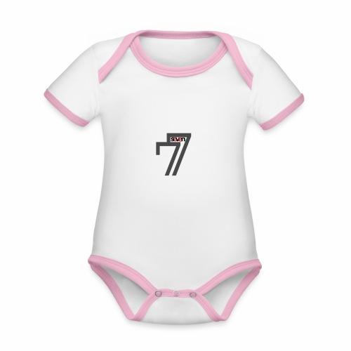 BORN FREE - Organic Baby Contrasting Bodysuit