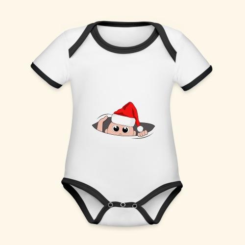 Baby Nikolaus - Baby Bio-Kurzarm-Kontrastbody