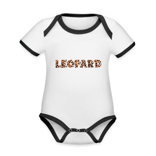 leopard 1237253 960 720 - Baby Bio-Kurzarm-Kontrastbody