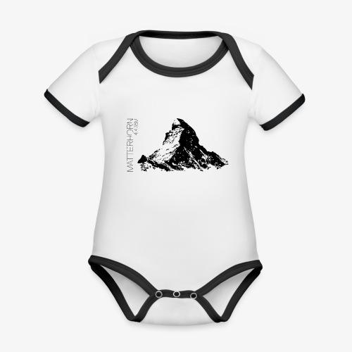 Matterhorn - Organic Baby Contrasting Bodysuit
