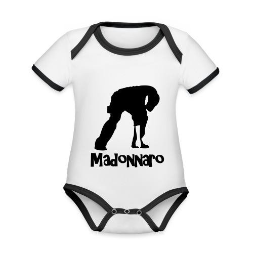 simpler version for logo - Organic Baby Contrasting Bodysuit