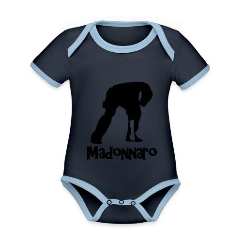 simpler version for logo - Organic Baby Contrasting Bodysuit