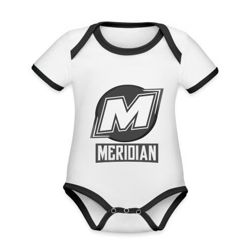 Offizielles sc0pez merch - Baby Bio-Kurzarm-Kontrastbody