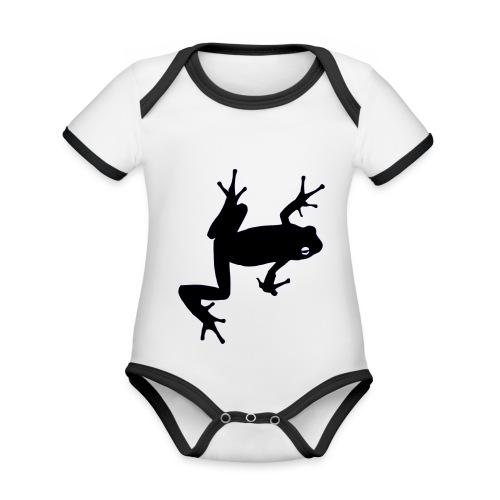 Frosch - Baby Bio-Kurzarm-Kontrastbody
