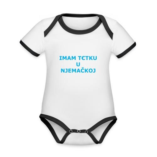 IMAM T€TKU U NJEMAČKOJ - Baby Bio-Kurzarm-Kontrastbody