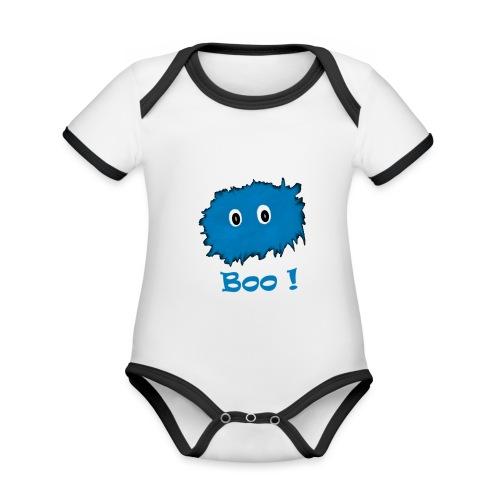 Boo! - Organic Baby Contrasting Bodysuit
