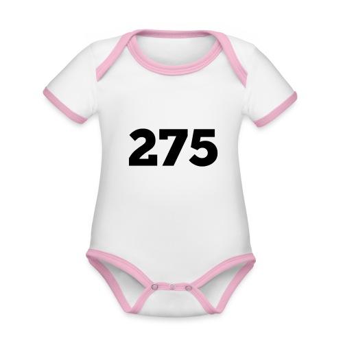 275 - Organic Baby Contrasting Bodysuit