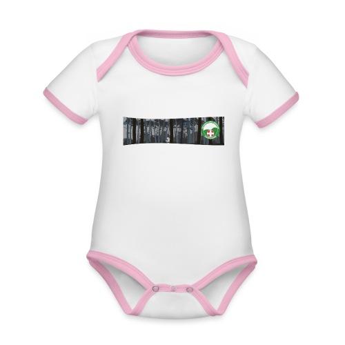 HANTSAR Forest - Organic Baby Contrasting Bodysuit