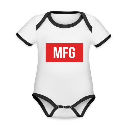 MFG on Youtube Logo - Organic Baby Contrasting Bodysuit