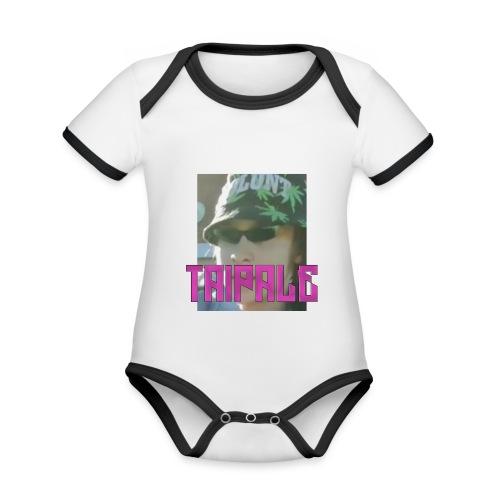 Rare Taipale - Vauvan kontrastivärinen, lyhythihainen luomu-body