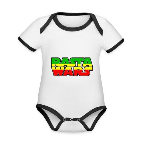 RASTA WARS KOUALIS - Body Bébé bio contrasté manches courtes