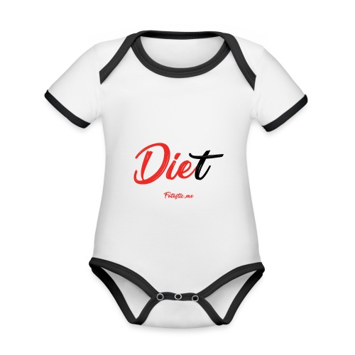 Diet by Fatastic.me - Organic Baby Contrasting Bodysuit
