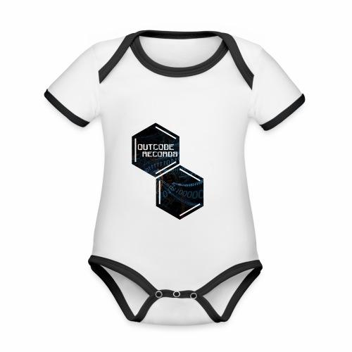 Outcode 0 - Body contraste para bebé de tejido orgánico