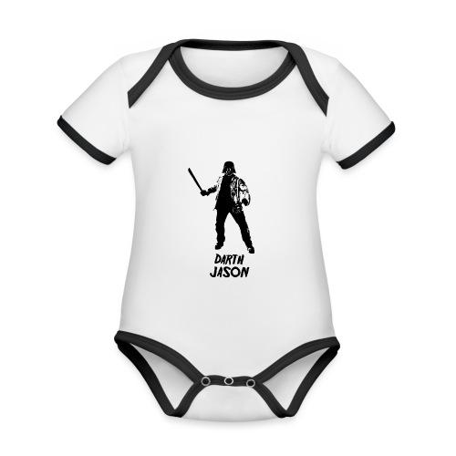 Darth Jason - Body Bébé bio contrasté manches courtes