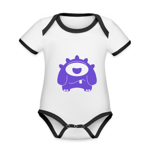 Main character design from the smashET game - Organic Baby Contrasting Bodysuit