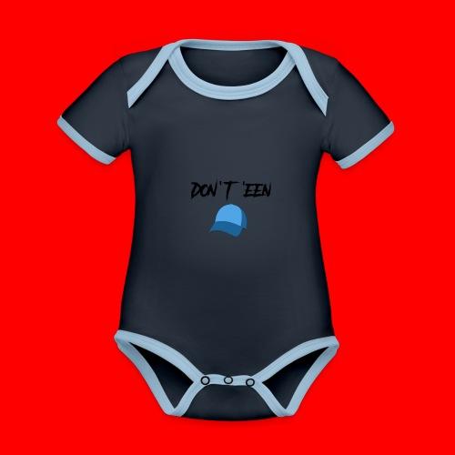 AYungXhulooo - Atlanta Talk - Don't Een Cap - Organic Baby Contrasting Bodysuit
