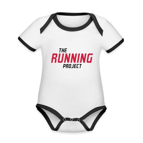 Ihr Running Project - Baby Bio-Kurzarm-Kontrastbody