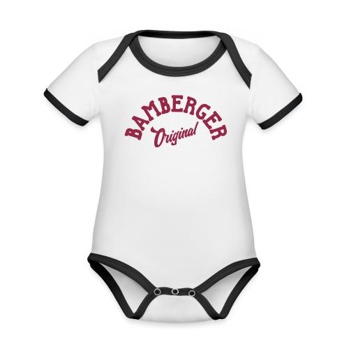 Bamberger Original - Baby Bio-Kurzarm-Kontrastbody