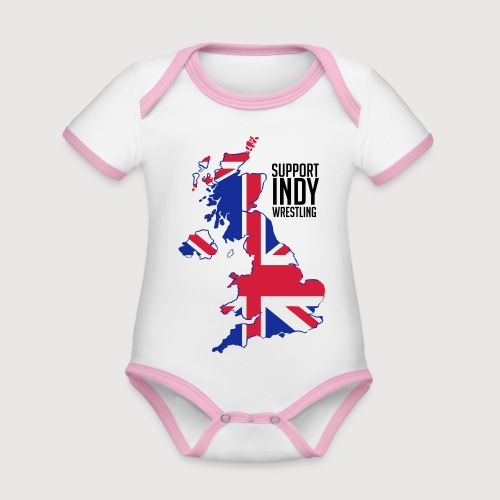 Indy Britain - Organic Baby Contrasting Bodysuit