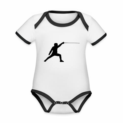 Fencer - Baby Bio-Kurzarm-Kontrastbody