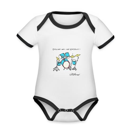 Luigi Drum - Organic Baby Contrasting Bodysuit