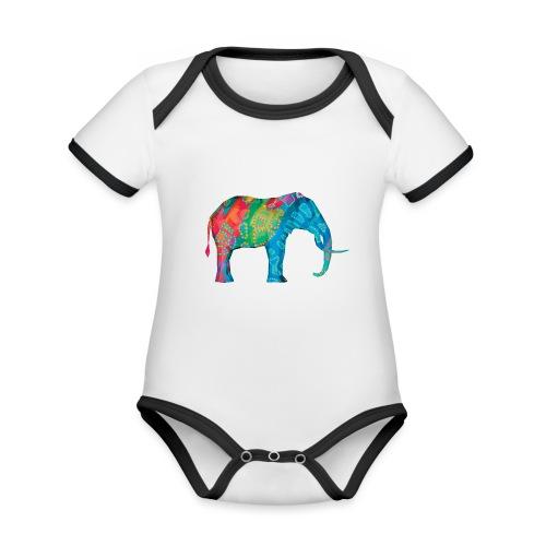Elefant - Organic Baby Contrasting Bodysuit