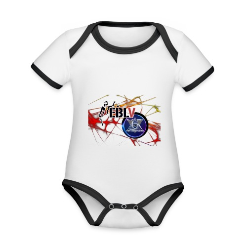 FUSION LOGOS 2 - Organic Baby Contrasting Bodysuit