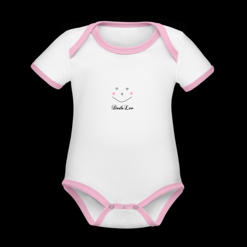 DodoLee - Baby Bio-Kurzarm-Kontrastbody