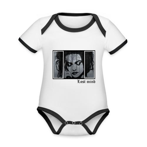 LOST MIND - Body contraste para bebé de tejido orgánico