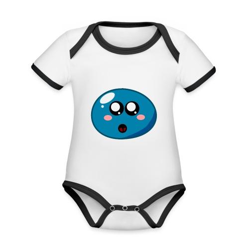 Klops - Baby Bio-Kurzarm-Kontrastbody