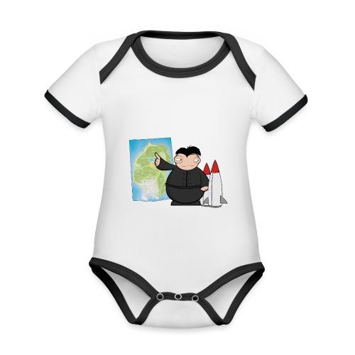 Happy Dictator. - Body contraste para bebé de tejido orgánico