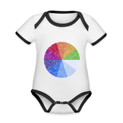 APV 10.1 - Organic Baby Contrasting Bodysuit